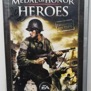 PSP MEDAL OF HONOR HEROES USED
