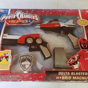 Power Rangers SPD Delta Blasters Hybrid Magnum Bandai Toys Πιστολάκια