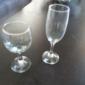 Είδη Σερβιρίσματος 18 Ποτήρια  (9 κρασιού & 9 σαμπάνιας)