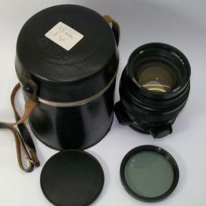 HELIOS -44-2  VERY CLEAN BLACK LENS 1.5/85 ΒΙΔΩΤΟΣ  ΦΑΚΟΣ ΣΕ ΑΡΙΣΤΗ  -ΜΙΝΤ- ΚΑΤΑΣΤΑΣΗ