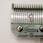 Oster  κοπτικό Νο 1 για  την  κουρευτική μηχανή της  Oster mod. Α5 & 97-44