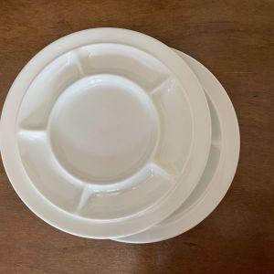 Rosenthal Σειρά Tomas. Βιντάζ 2 Μεγάλα Πιάτα Σερβιρίσματος. Πορσελάνη. Μήκος 26 εκ