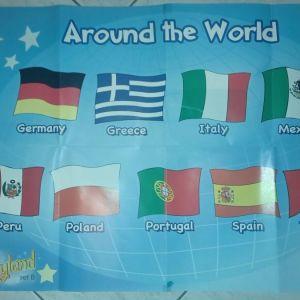 6 μεγάλες αφίσες αγγλικών