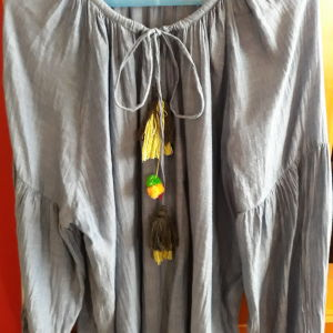Etnic μπλούζα ZARA