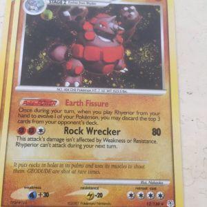 Pokemon card Rhyperior