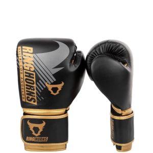 Γάντια Μποξ Ringhorns Charger Mx (Black-Gold)