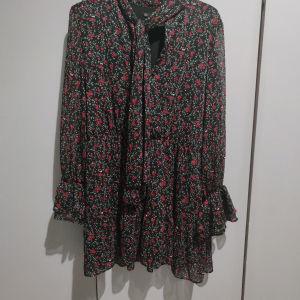 Zara mini φόρεμα φλοραλ M/L