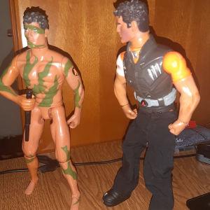 Φιγούρες Actionman και Dr X