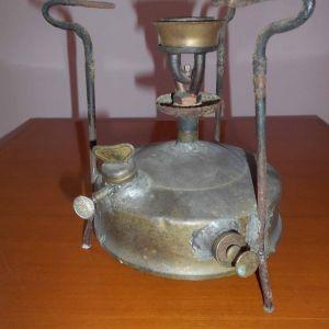 Παλιά Μπρούτζινη Γκαζιέρα Optimus (Συσκευή Μαγειρέματος Σουηδικής Κατασκευής), για χρήση ή για διακόσμηση χώρου.