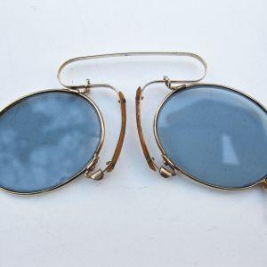 Ζεύγος επίχρυσα γυαλιά