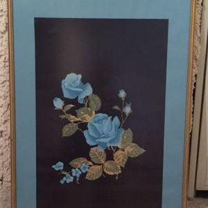 Καδρο «λουλουδι μπλε»