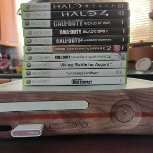 XBOX 360 Core System + Games