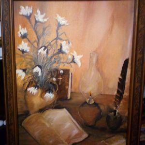 Πίνακας ζωγραφικής χειρός ελαιογραφία