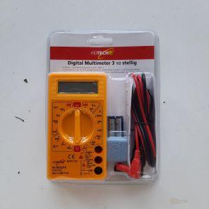 Ψηφιακό πολύμετρο με οθόνη και buzzer