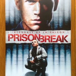 Prison Break Season 1 dvd
