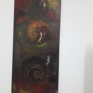 πίνακας ζωγραφικής σε μουσαμά με μπογιές λαδιου