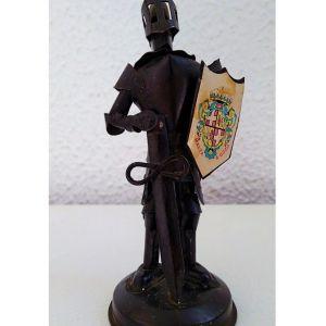 Χειροποίητος Μεσαιωνικός Ιππότης Μέταλλο Φιγούρα