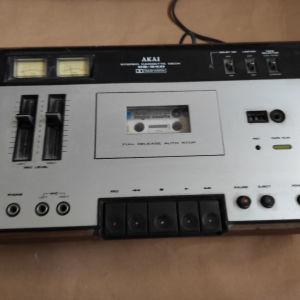 Stereo cassette akai cs-34d