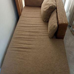 Καναπές μπαμπού μπαλκονιού