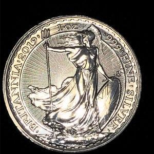 Britannia 1 oz silver 2019
