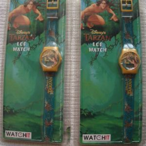 TARZAN DISNEY'S LCD WATCH AS COMPANY 1999