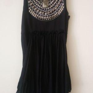 μπλούζα vivette one size χρώμα μαύρο καινούργιο