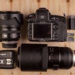 Nikon D810 + Tamron 70-200 + battery + Godox X1T-N. (2000 ευρω)