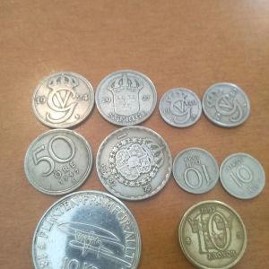 10 νομίσματα,κορόνες Σουηδίας.