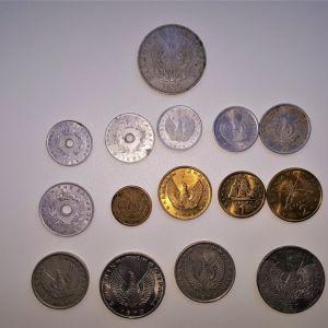 ΛΟΤ με νομίσματα 1930-1980