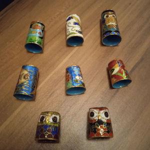 Συλλογή μεταλλικών Δακτυλιθρων.