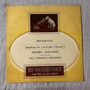Δίσκος βινυλίου Beethoven Symphony No 3 in E flat - Arturo Toscanini