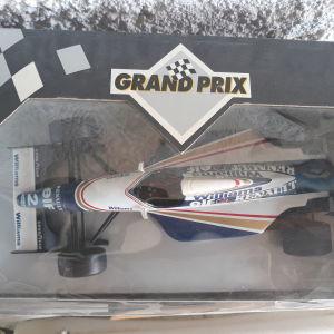 Williams Renault Grand Prix Μεταλλικό Συλλεκτικό Αυτοκίνητο 1:18 κλίμακας