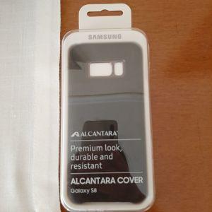 Samsung Galaxy S8 Alcantara Θήκη