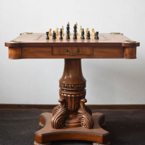 Χειροποίητο τραπεζάκι σαλονιού  -  Chess table
