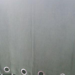 2 ΚΟΥΡΤΙΝΕΣ JYSK 140x175 AΧΡΗΣΙΜΟΠΟΙΗΤΕΣ (1 ΤΕΜ ΧΡΩΜΑΤΟΣ ΛΑΔΙ ΠΡΑΣΙΝΟ 1 ΤΕΜ ΚΑΦΕ ΣΚΟΥΡΟ)