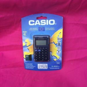 Αγγελιες Casio Electronic Calculator HL-820ER-s του 2001 αριθμομηχανη κομπιουτερακι υπολογιστης μετατροπεας νομισματος ευρω