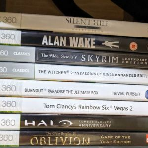 XBOX 360 Games συλλογή