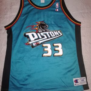 DETROIT PISTONS - Grant Hill Εμφάνιση μπάσκετ XL