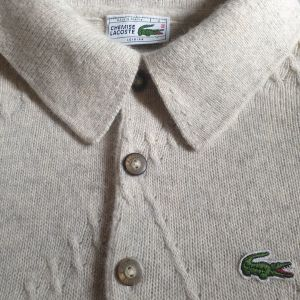 Lacoste pullover made in France large