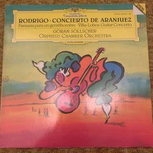 Rodrigo concierto de Aranjuez Deutsche grammophon made in West Germany
