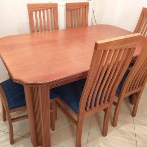 Τραπεζαρία με 6 καρέκλες και Μπουφές