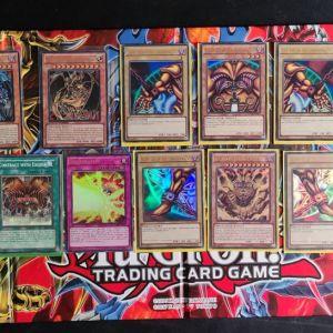 Exodia Ultra Rare set + Ιερά Θηρία