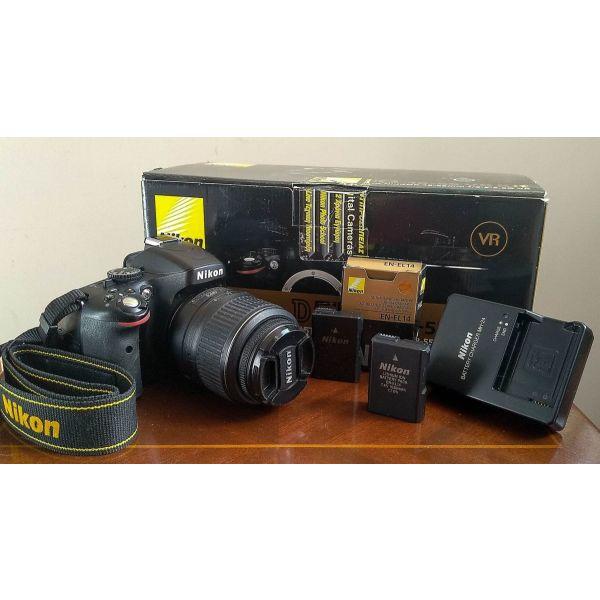 Nikon D5100   NIKKOR 18-55mm F/3.5–5.6 & NIKKOR 55-200mm F/4–5.6 KIT me Battery Pack