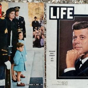 2 περιοδικα LIFE του  1963
