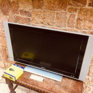 Τηλεοραση Philips 32 LCD μαζι με Remote και Παρελκομενα
