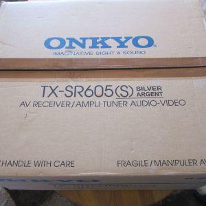 Ραδιοενισχυτής ONKYO TX-SR 605 (S) SILVER