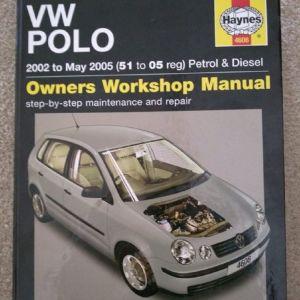 Vw polo Hayne's owner's workshop manual