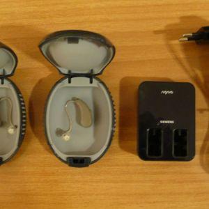 Ακουστικά Βαρυκοίας - Signia Pure Charge & Go NX - 312 Battery - Σαν καινουργια - Εγγυηση 1 ετους - Δωρεαν: Ακοομετρηση - Ρυθμιση - Εκπαιδευση