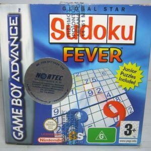 NINTENDO GAME BOY ADVANCE SUDOKU FEVER BRAND NEW
