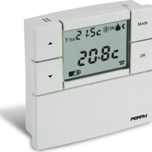 Ψηφιακός θερμοστάτης χώρου Perry TE530B ιδανικός για ψύξη & θέρμανση